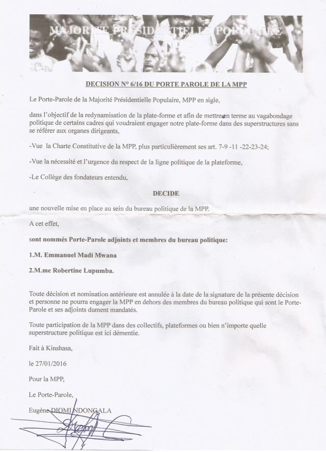 decision mpp signee par Diomi0003